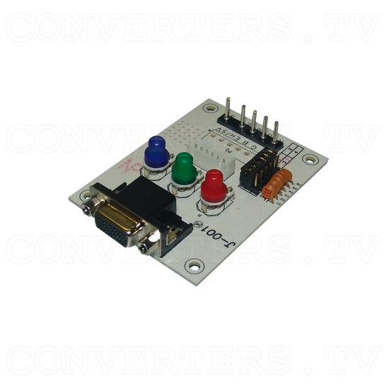 17 inch CGA EGA VGA LCD Desktop Monitor - Multi-Frequency - PCB - Full View