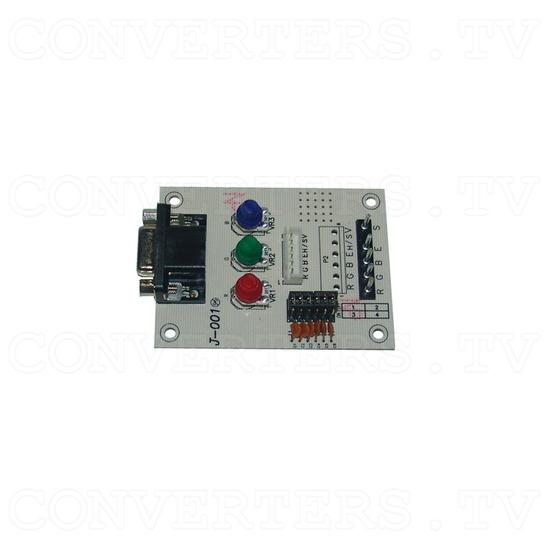17 inch CGA EGA VGA LCD Desktop Monitor - Multi-Frequency - PCB - Top View