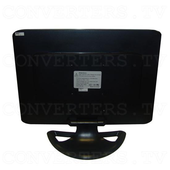 19 inch CGA EGA VGA LCD Desktop Monitor - Multi-Frequency - Back View