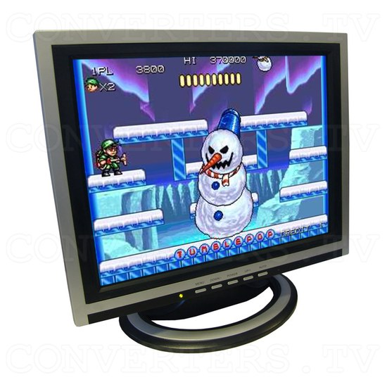 15 inch CGA EGA VGA LCD Desktop Monitor - Multi-Frequency - Full View