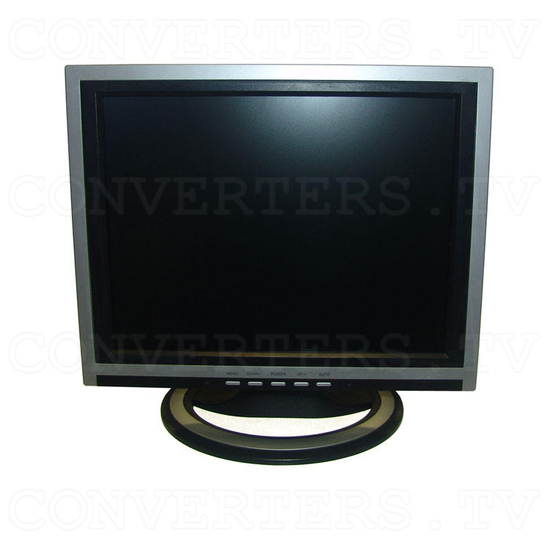 15 inch CGA EGA VGA LCD Desktop Monitor - Multi-Frequency - Front View