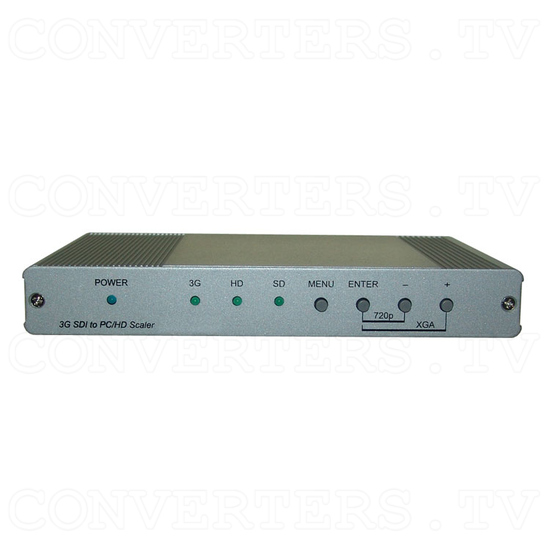 SDI to PC/HD Scaler with Audio - Front View