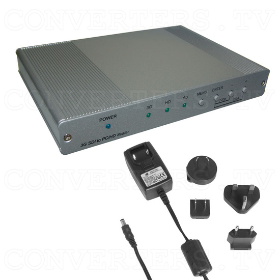 SDI to PC/HD Scaler with Audio - Full Kit
