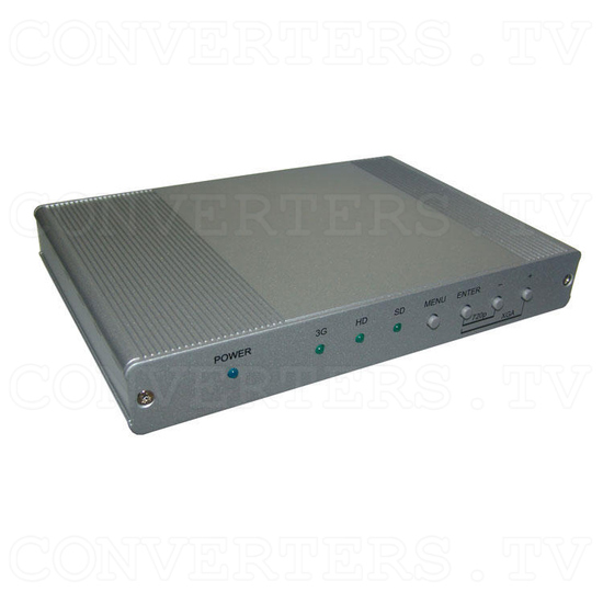3G-SDI to HDMI Scaler with Audio - L/R and SPDIF - Full View