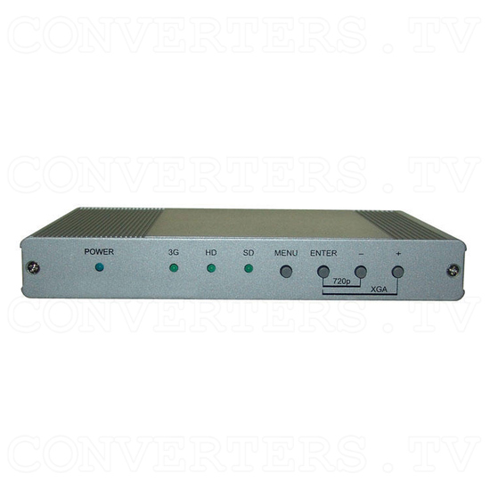 3G-SDI to HDMI Scaler with Audio - L/R and SPDIF - Front View