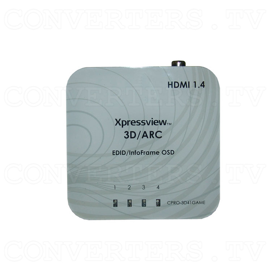 HDMI v1.4 4 In 1 Out Switch with Coaxial Audio Out - Top View