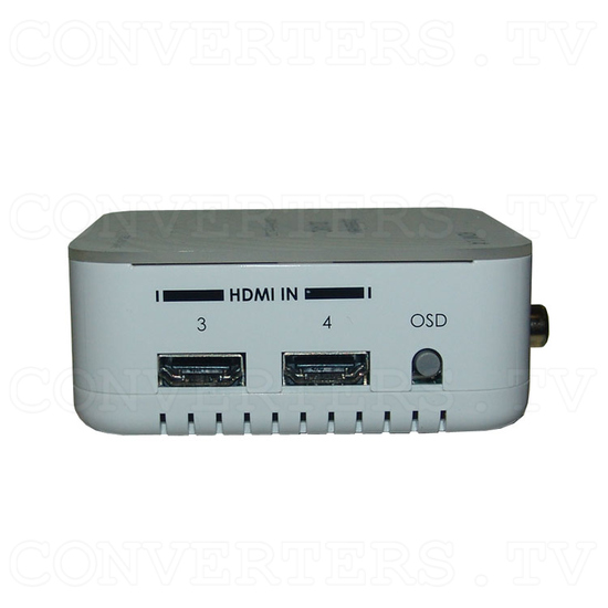 HDMI v1.4 4 In 1 Out Switch with Coaxial Audio Out - Right View