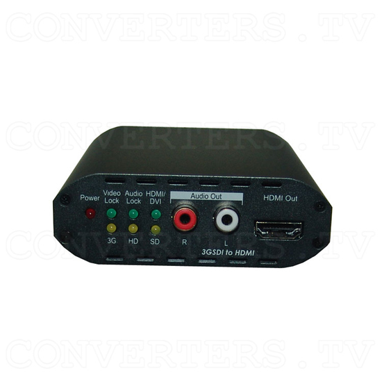 3G SDI to HDMI Converter - Front View