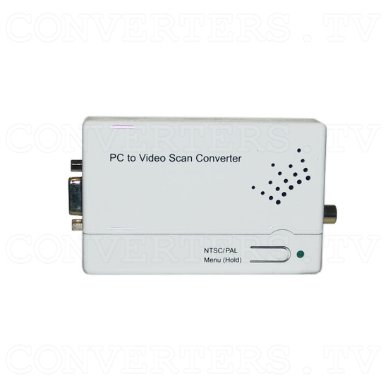 Component and PC to Composite Video Scan Converter - Top View