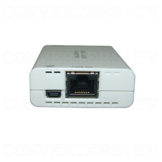 Digital S/PDIF and Toslink Audio over single Cat5e/6 Transmitter and Receiver - Transmitter - Right View