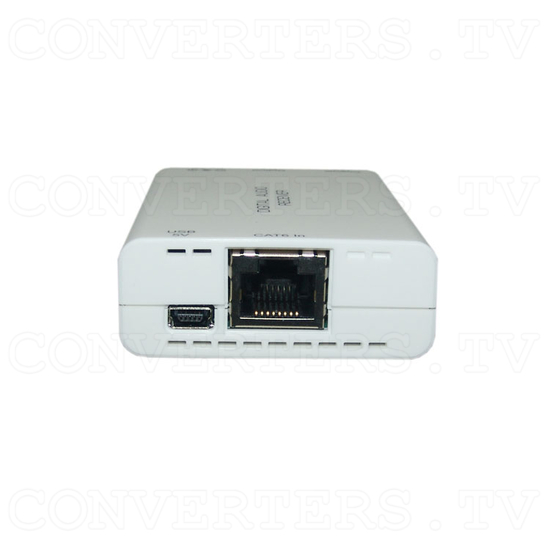 Digital S/PDIF and Toslink Audio over single Cat5e/6 Transmitter and Receiver - Receiver - Right View