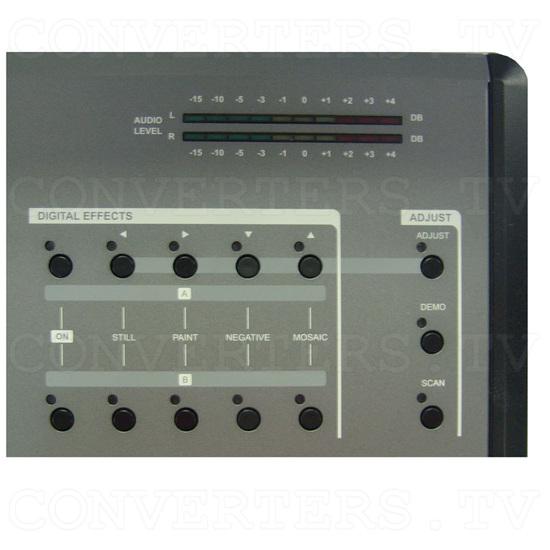 HD/SD Digital AV Mixer (CMX-12) - Top Detail - Digital Effects