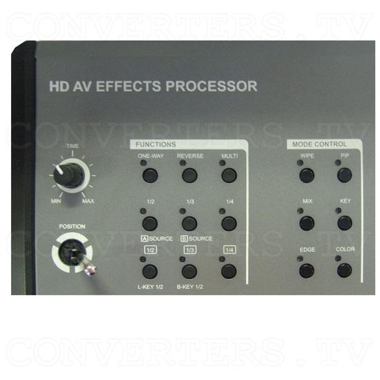HD/SD Digital AV Mixer (CMX-12) - Top Detail - Functions/Mode Select