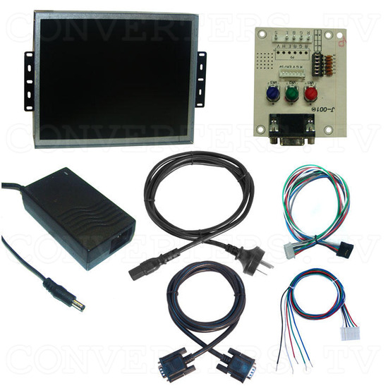 15 Inch Delta CGA EGA Multi-frequency to XGA LCD Panel - Full Kit