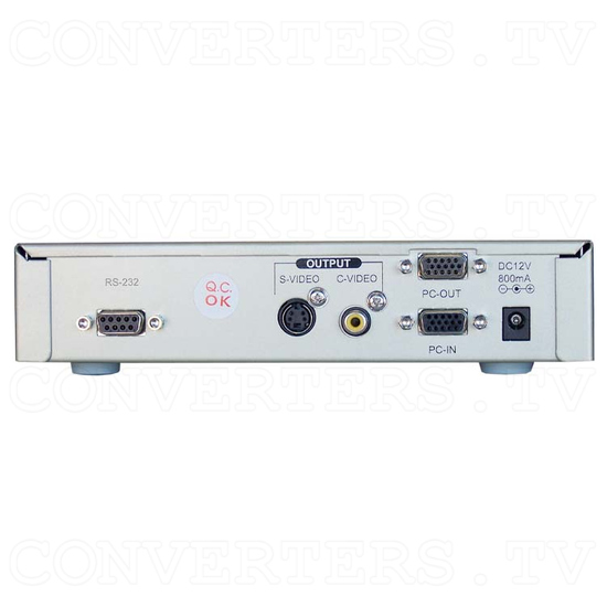 PC to Video Scan Converter (CPT-380) - Back View