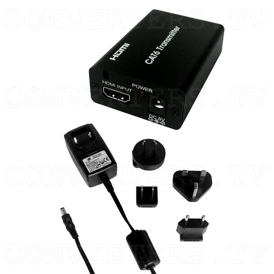 HDMI v1.3 to Twin CAT6 Transmitter - Full Kit