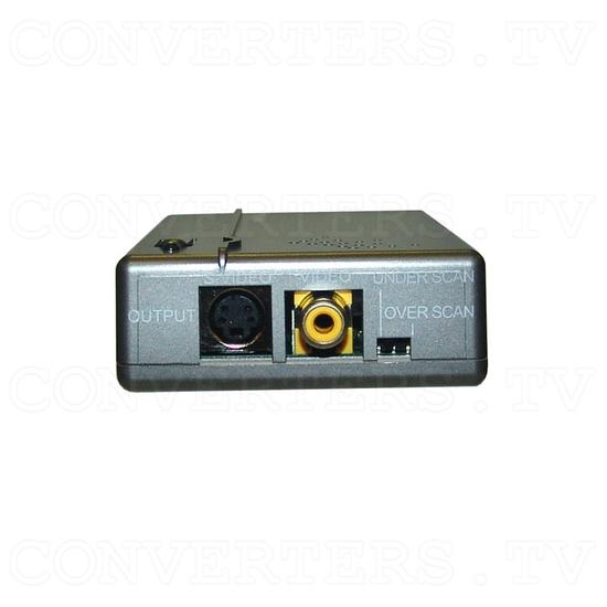 PC VGA WUXGA to Video Converter - Front View