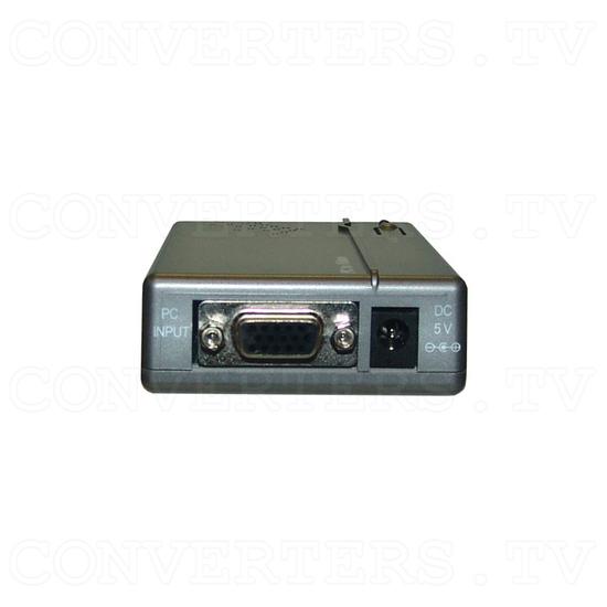 PC VGA WUXGA to Video Converter - Back View