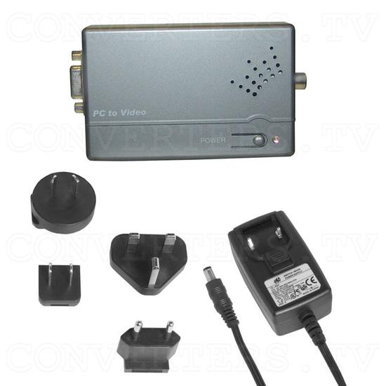 PC VGA WUXGA to Video Converter - Full Kit