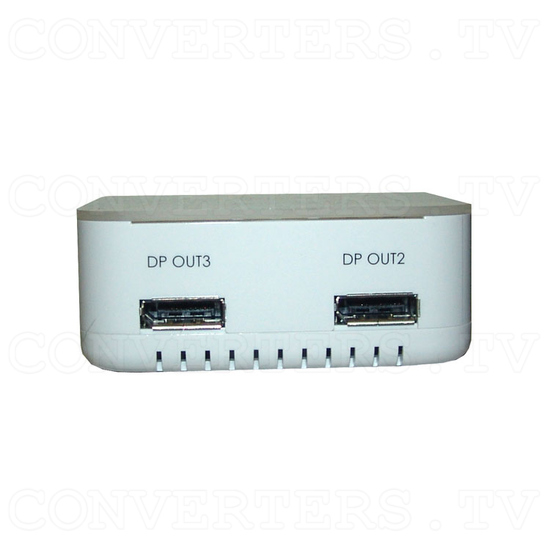 DisplayPort Extender Splitter 1 In 3 Out - Front View