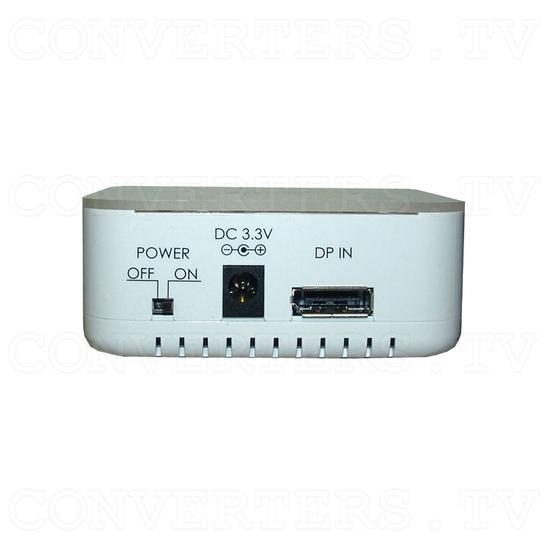 DisplayPort Extender Splitter 1 In 3 Out - Back View