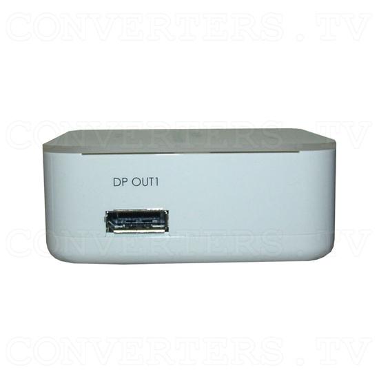 DisplayPort Extender Splitter 1 In 3 Out - Side View