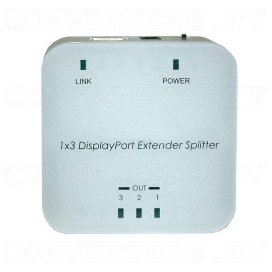 DisplayPort Extender Splitter 1 In 3 Out - Top View