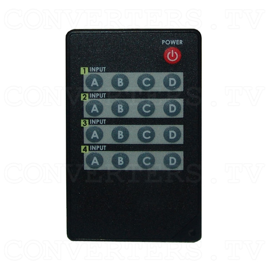 Infrared Matrix 4 In 4 Out - Remote