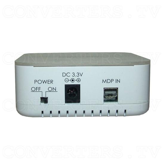 Mini DisplayPort 1 In 3 Out Extender Splitter - Back View