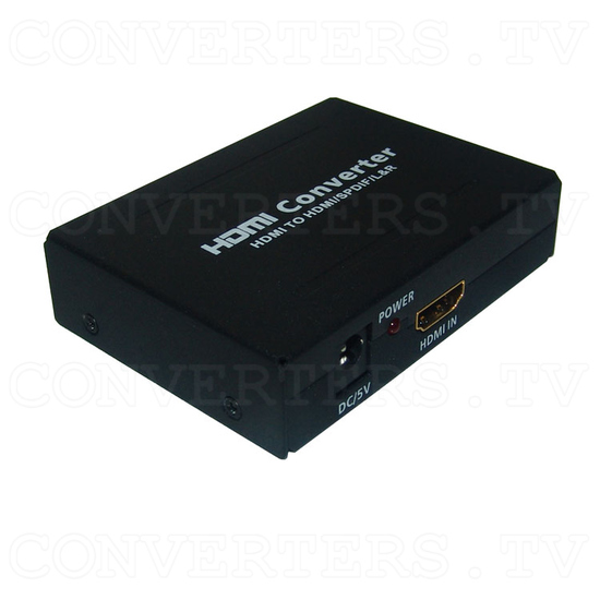 HDMI to HDMI with Digital Audio Decoder - Full View