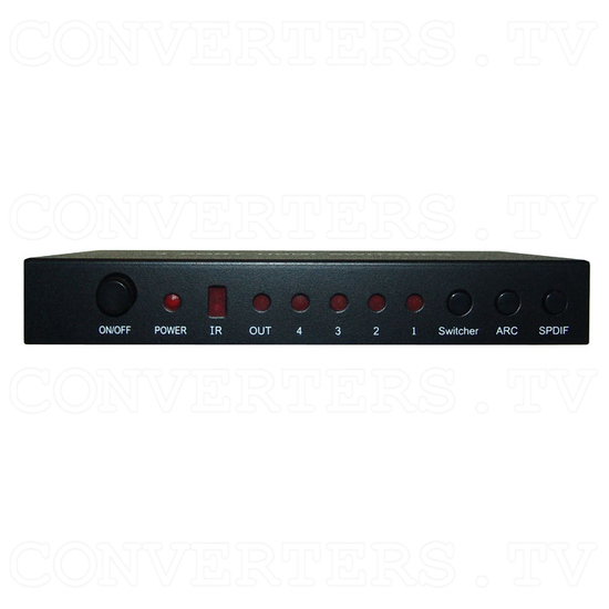 HDMI Switch 4 in 1 out - Front View