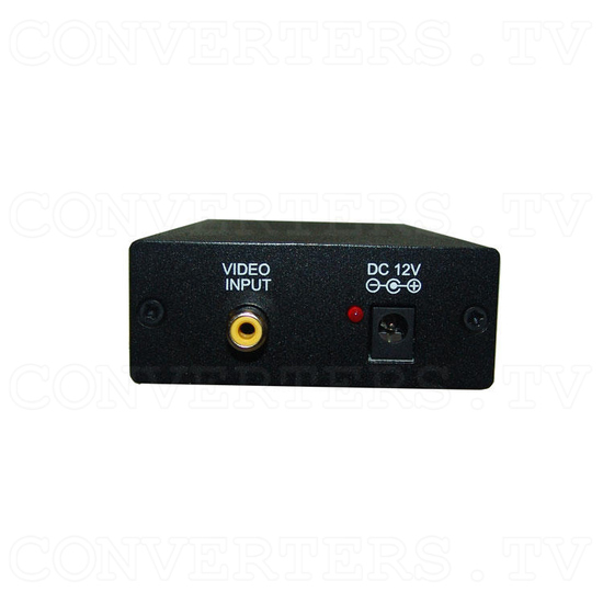 PAL or NTSC Video to PAL or NTSC Video Digital Converter 12v Car Model - Front View