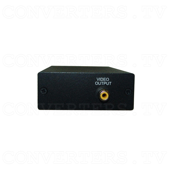 PAL or NTSC Video to PAL or NTSC Video Digital Converter 12v Car Model - Back View