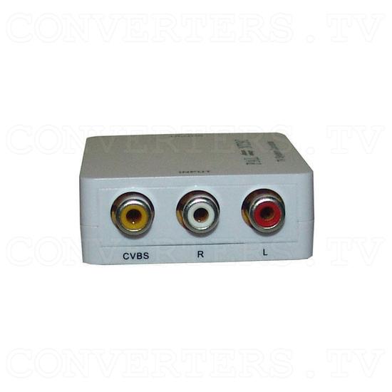 PAL/NTSC Video to NTSC/PAL Video Converter - Left View