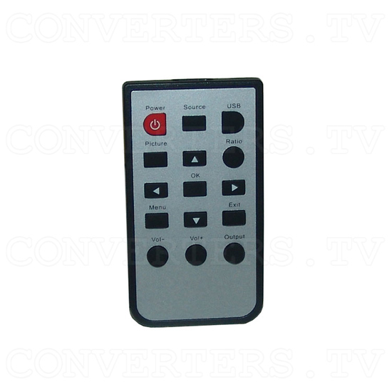 All Video to HDMI Converter - Remote