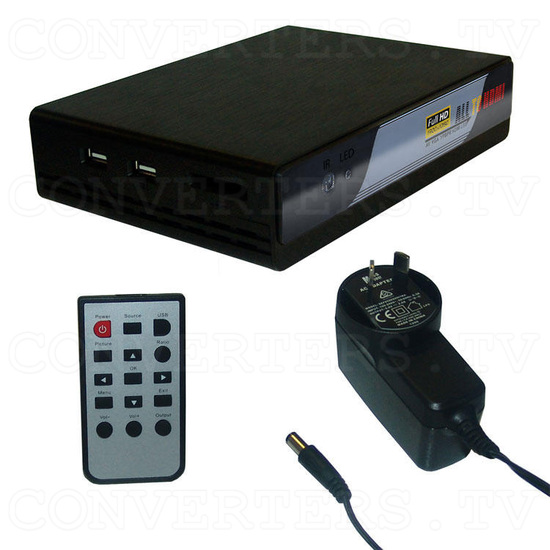 All Video to HDMI Converter - Full Kit