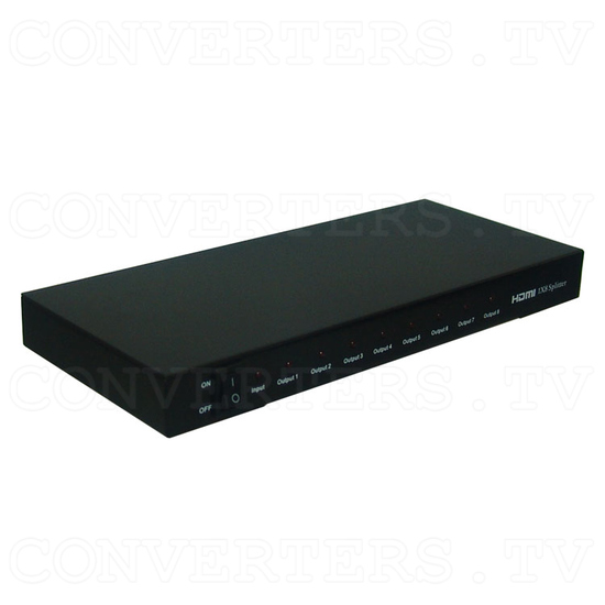 HDMI Splitter 1 in 8 out - Full View