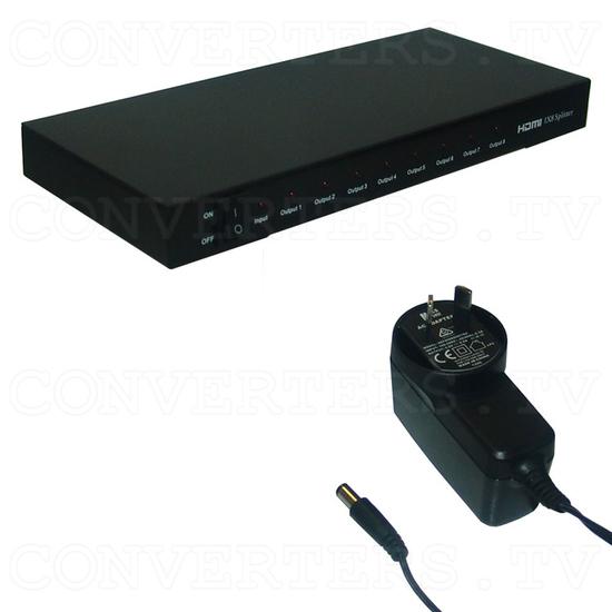 HDMI Splitter 1 in 8 out - Full Kit