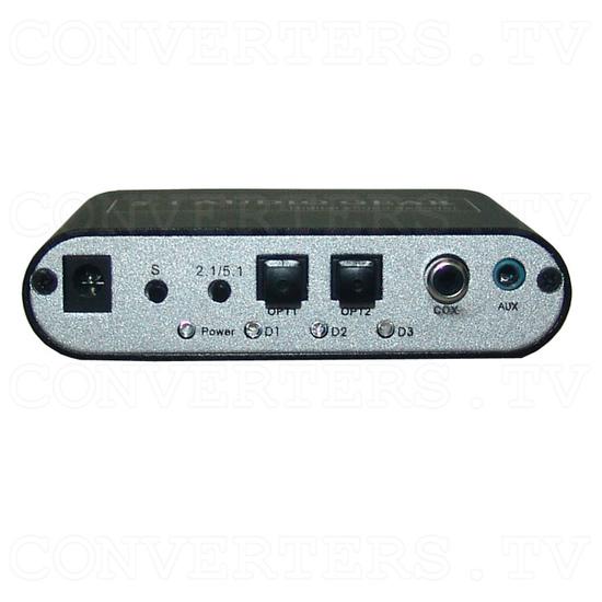 DTS/AC-3 Digital Audio decoder - Front View