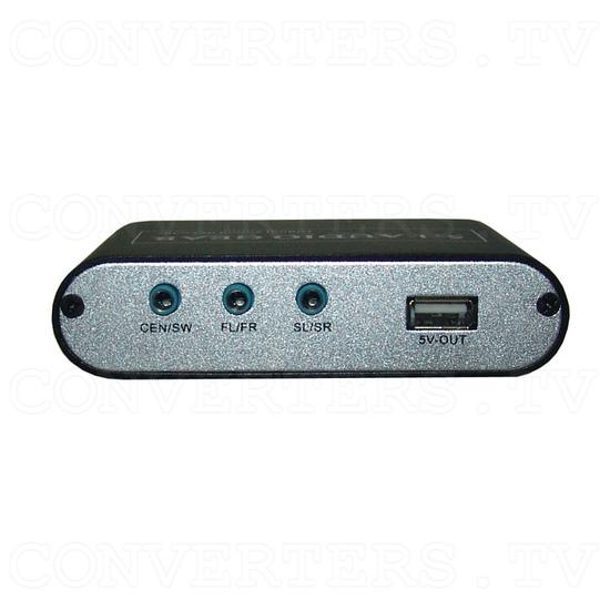 DTS/AC-3 Digital Audio decoder - Back View