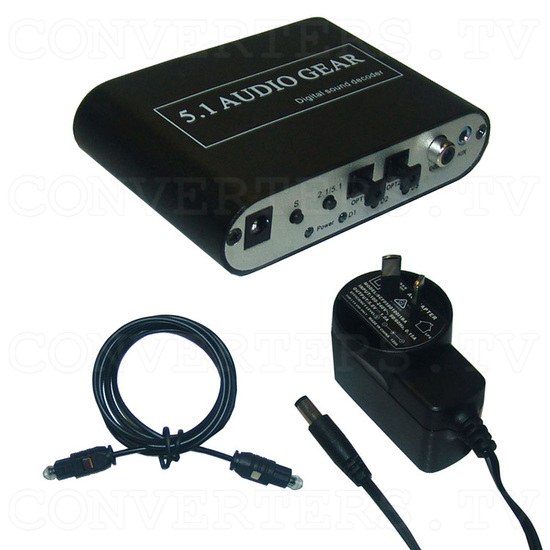 DTS/AC-3 Digital Audio decoder - Full Kit
