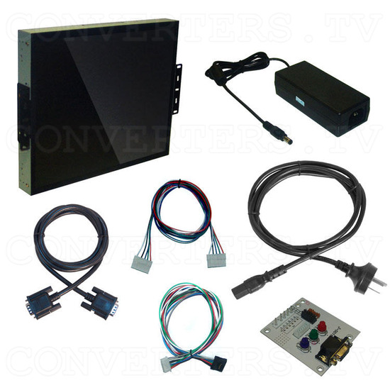 17 Inch Delta CGA EGA Multi-frequency to SXGA LCD Panel - Full Kit