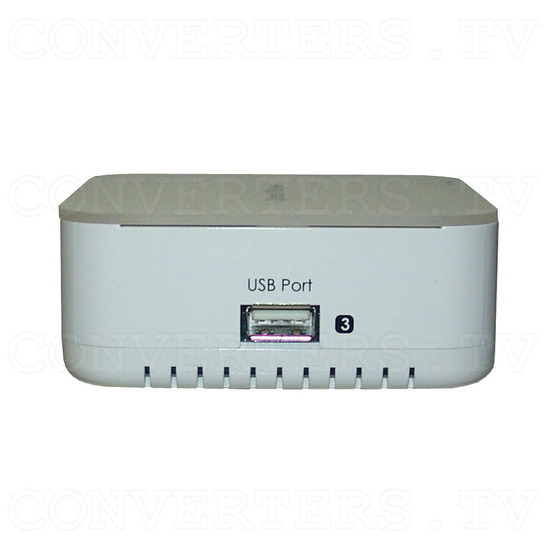 Wireless PC to TV Converter - Side View
