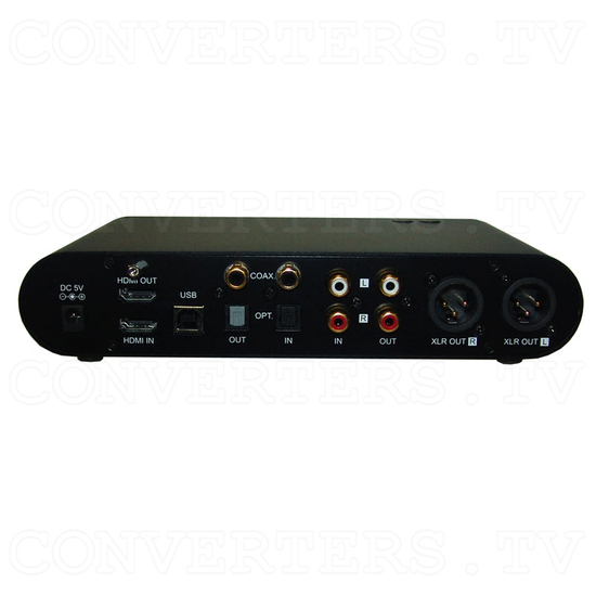 HD Audio Center - Back View