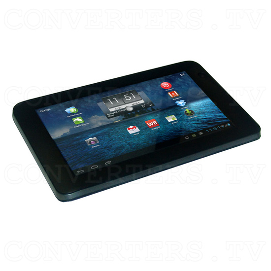 7 Inch Android Tablet 4.0 1.5GHz 8GB with Free Keyboard and Leather Cover (black) - Full View