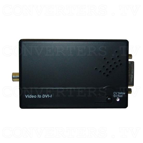CVBS/SV to DVI-I Converter - Top View