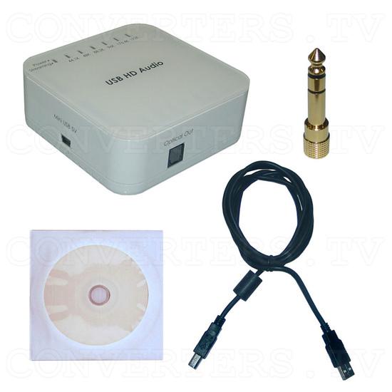 USB Audio Converter Pro - Full Kit