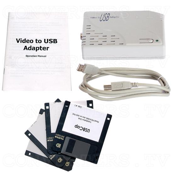 NTSC / PAL Video to PC Convertor / Converter (CVP-2000) - Full Kit