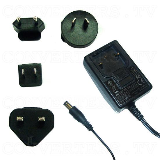 CGA RGB and Component YCbCr to WXGA Upscaler - Power Supply 110v OR 240v