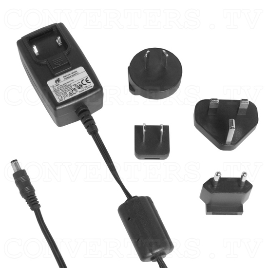 HDMI to Video CV/SV Down Scaler w/ HDMI pass-thru - Power Supply 110v OR 240v